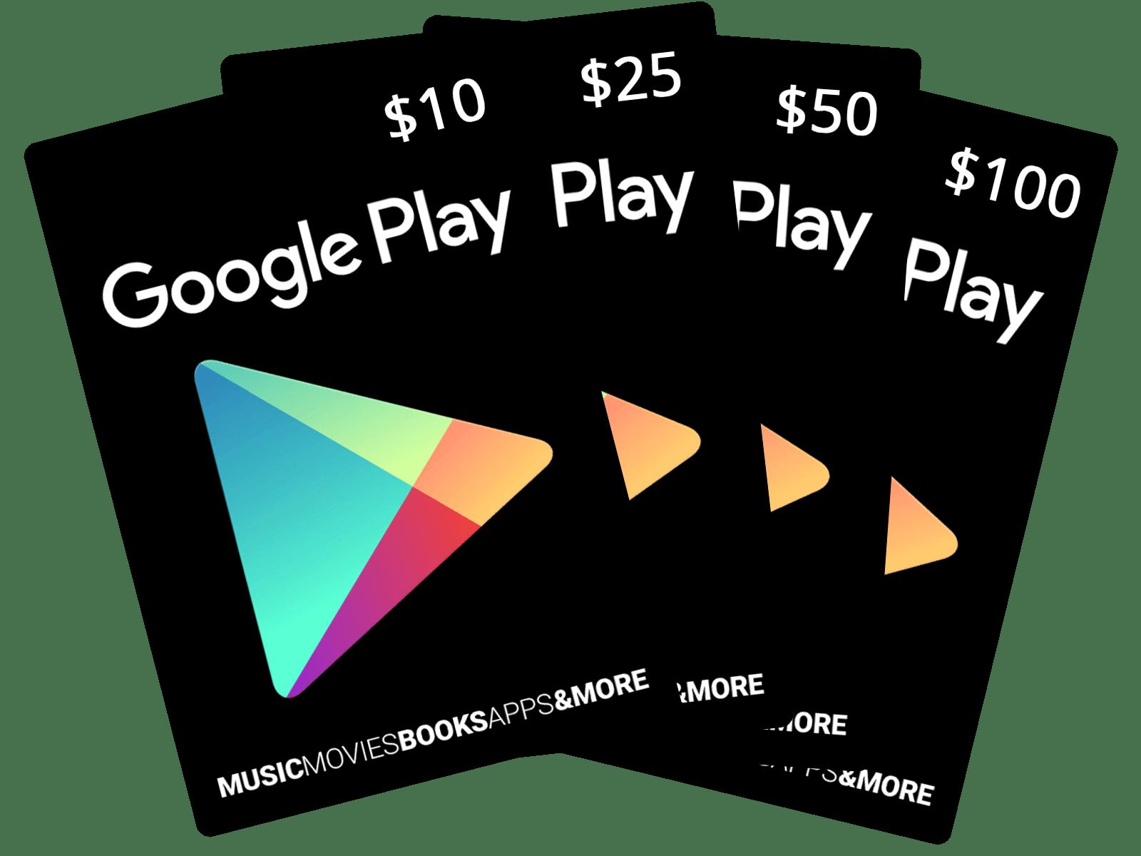 Google Play Gift Code 100$ Nạp chậm